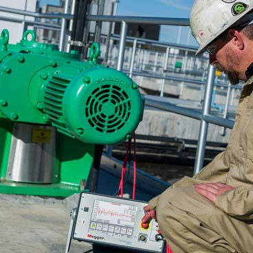 Electric motor test and monitoring solutions